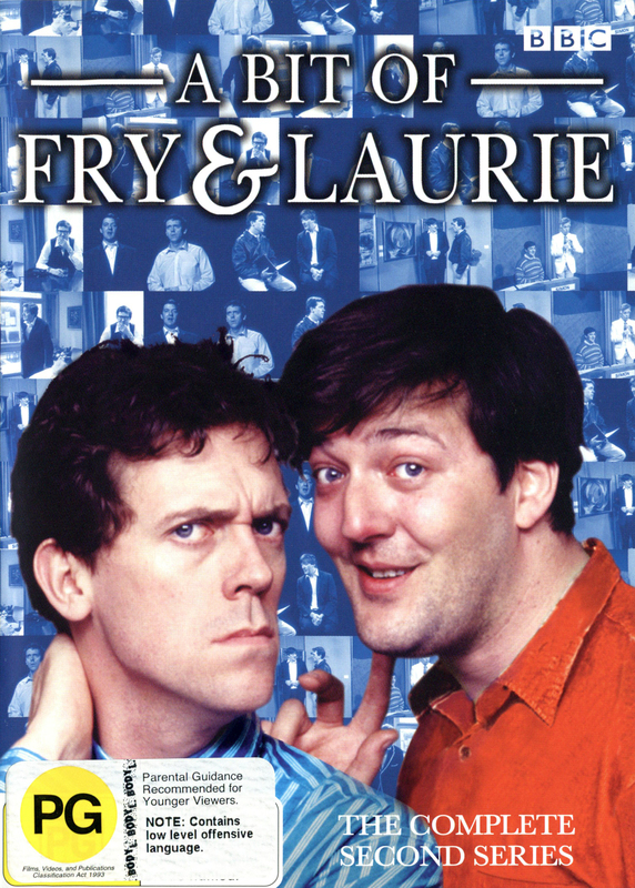 Bit Of Fry And Laurie, A - Complete Series 2 on DVD