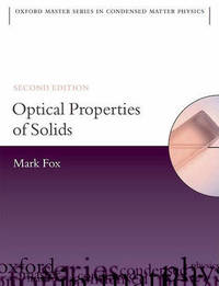 Optical Properties of Solids by Mark Fox image