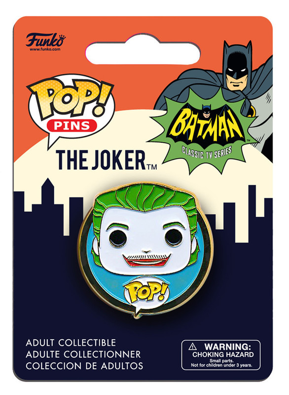 DC Comics - Joker (1966) Pop! Pin