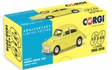 Corgi: 1/43 Morris Minor 1000, Highway Yellow - 60th Anniversary Collection