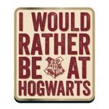 Harry Potter Rather be at Hogwarts Badge