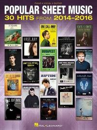 Popular Sheet Music by Hal Leonard Publishing Corporation