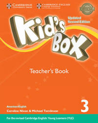 Kid's Box Level 3 Teacher's Book American English by Lucy Frino image