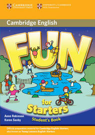Fun for Starters Student's Book by Anne Robinson image