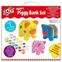 Galt: Paint A Piggy Bank Set