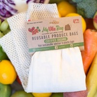 Large 4-Pack Reusable Produce Bags