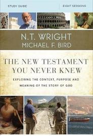 The New Testament You Never Knew Study Guide by N.T. Wright image