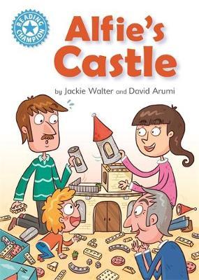 Reading Champion: Alfie's Castle by Jackie Walter image