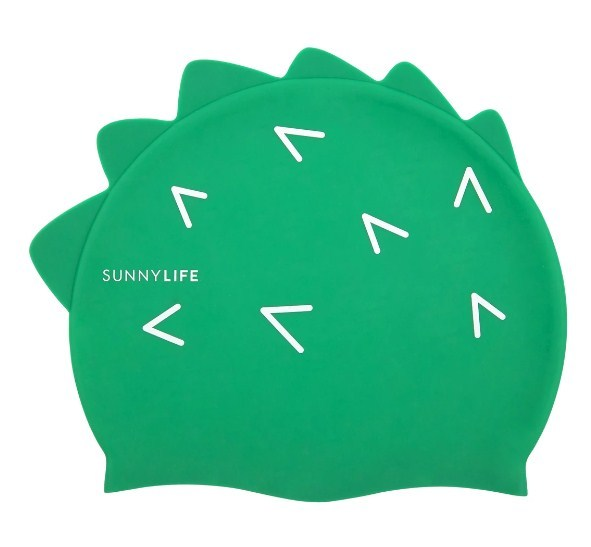 Sunnylife: Shaped Swimming Cap - Croc (3-9)