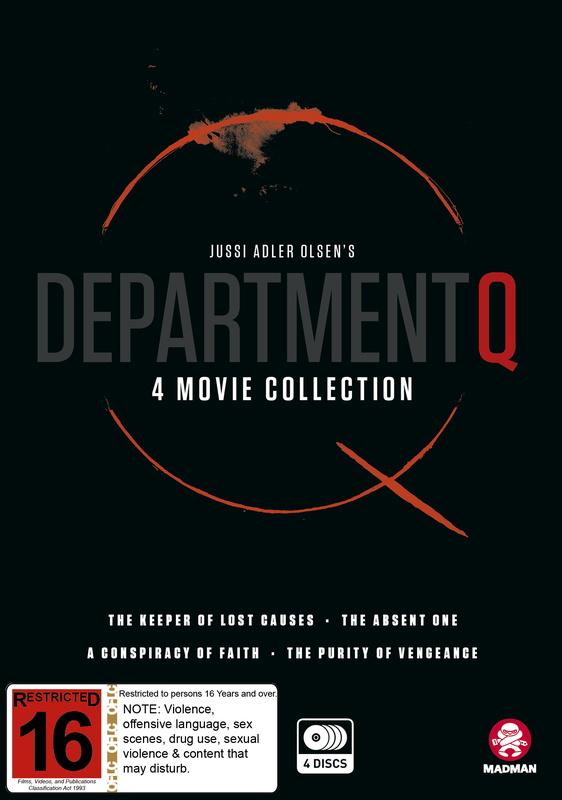 Department Q - Box Set on DVD