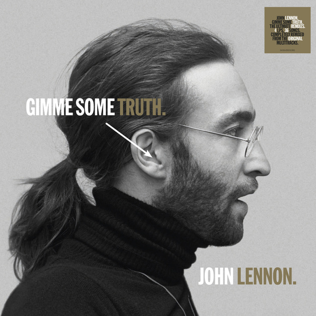 GIMME SOME TRUTH. (4LP) by John Lennon