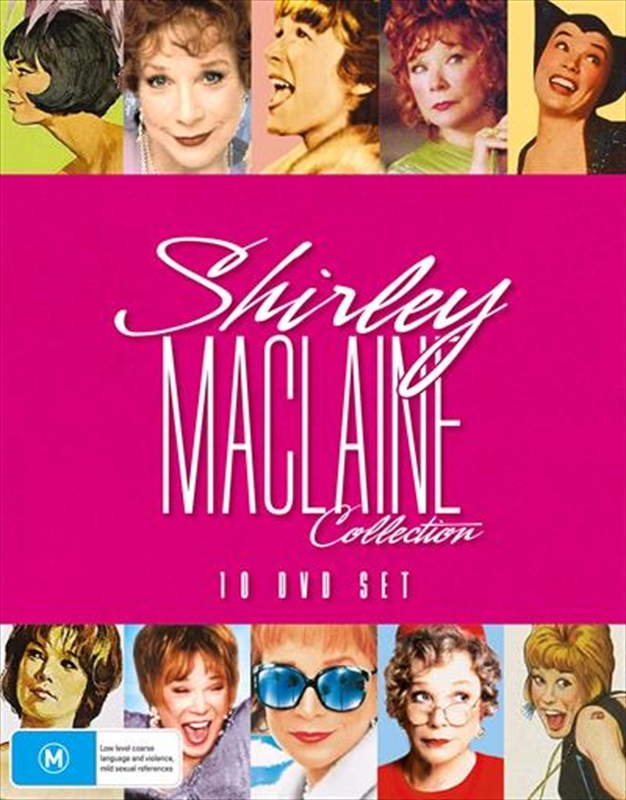 Shirley Maclaine Collection on DVD