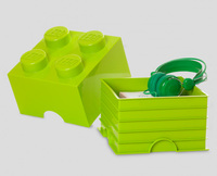 LEGO: Storage Brick 4 - Black image