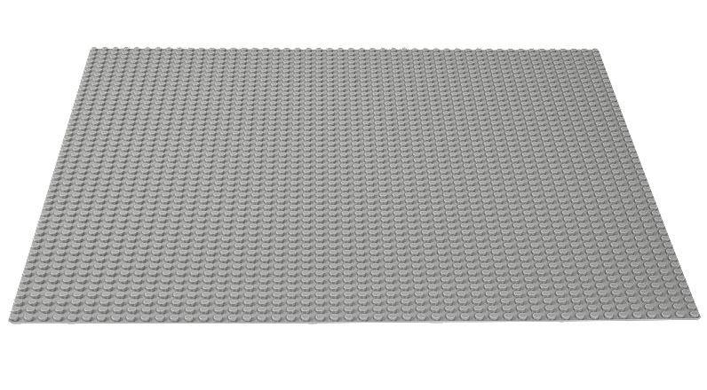LEGO Classic: Grey Baseplate (10701) image
