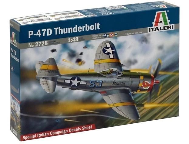 Italeri: 1:48 P - 47D Thunderbolt - Model Kit