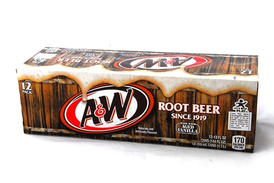 A&W Root Beer Fridge Pack (355ml) image