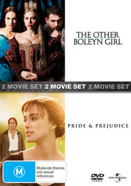 The Other Boleyn Girl / Pride and Prejudice (2 Disc Set) on DVD image