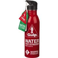 Glugg Red Water Bottle Thirst Extinguisher