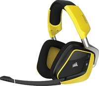 Corsair Void PRO RGB Wireless Gaming Headset (Yellow) for PC Games