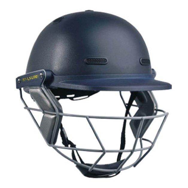 Masuri VS Club Navy Cricket Helmet (Size Youth)