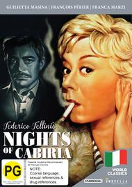 Nights of Cabiria on DVD