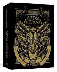Dungeons and Dragons Art and Arcana: Special Edition, Boxed Book and Ephemera Set by Michael Witwer