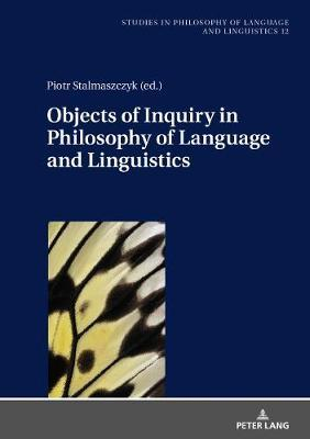 Objects of Inquiry in Philosophy of Language and Linguistics image