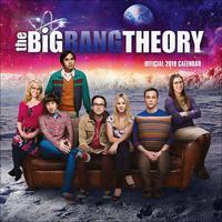 Big Bang Theory 2019 Square Wall Calendar