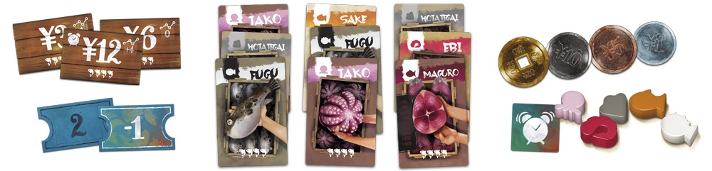Tsukiji - Board Game image