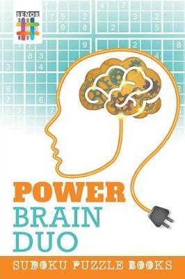 Power Brain Duo Sudoku Puzzle Book by Senor Sudoku
