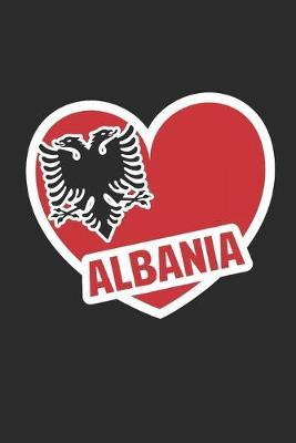 Albania Eagle Heart by Values Tees