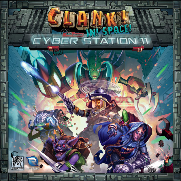 Clank in Space: Cyber Station 11 - Game Expansion
