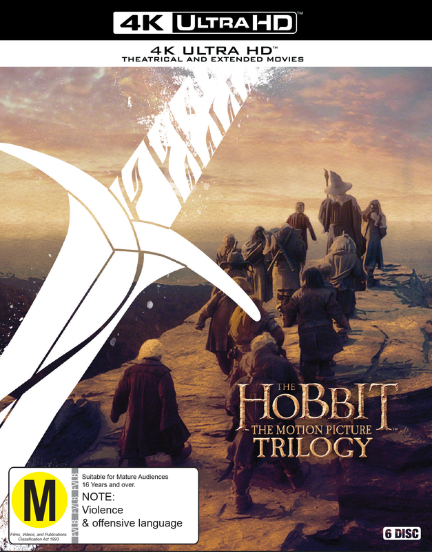 The Hobbit Trilogy (Theatrical + Extended) (4K UHD) on UHD Blu-ray