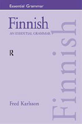 Finnish: An Essential Grammar by Fred Karlsson image