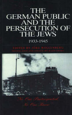 The German Public And The Persecution Of The Jews, 1933-1945 image