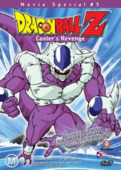 Dragon Ball Z - Movie 05 - Cooler's Revenge on DVD