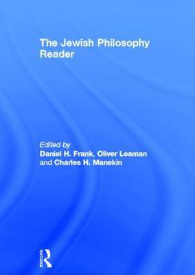 The Jewish Philosophy Reader image