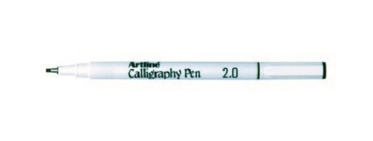 Artline Calligraphy 2mm Pen Black