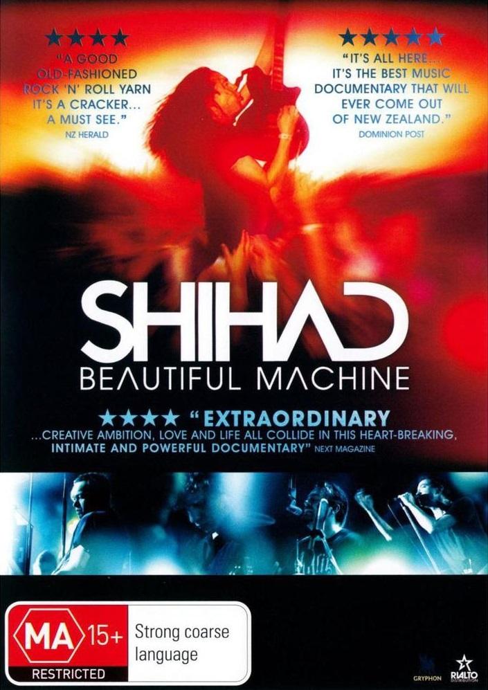 Shihad: Beautiful Machine on DVD image