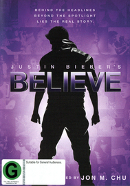Justin Bieber's Believe on DVD