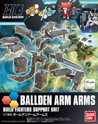HG 144 HGBC Ballden Arm Arms Model kit