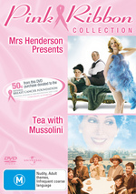 Mrs Henderson Presents / Tea With Mussolini - Pink Ribbon Collection (2 Disc Set) on DVD