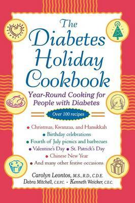 The Diabetes Holiday Cookbook by Carolyn Leontos image