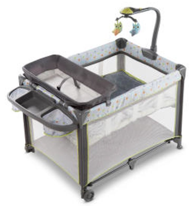 Ingenuity: Smart & Simple Travel Cot - Marlo image