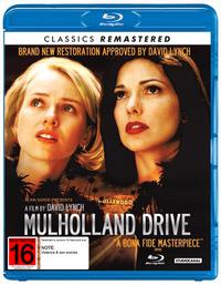Mulholland Drive on Blu-ray