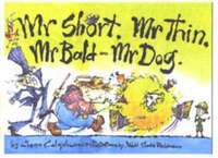 Mr Short Mr Thin Mr Bald and Mr Dog by Glenn Colquhoun