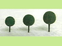 JTT: Micro-Tree Dark Green (30 Pack)