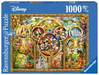 Ravensburger 1000pc Puzzle - The Best Disney Themes
