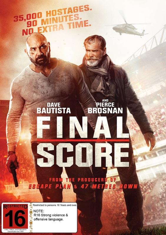 Final Score on DVD