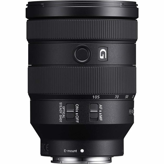 Sony FE 24-105mm f/4 G OSS E-Mount Lens - Black